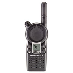 Motorola CLS1410 Cls Series Business Two-Way Radio, 4 Channels, One Watt, 56 Frequencies, 4.5Oz
