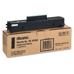 Muratec DK40360 Dk40360 Drum Kit, Black