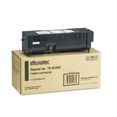 Muratec TS40360 Ts40360 Toner, 12000 Page-Yield, Black
