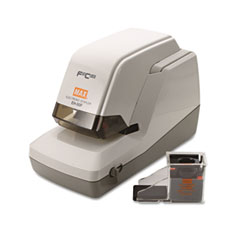 Max Usa EH-50F Eh-50F Heavy-Duty Flat Clinch Electric Stapler, 50-Sheet Capacity