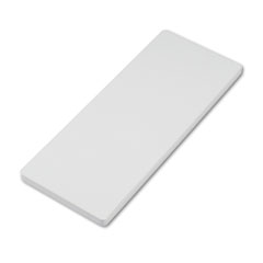 "Maxon MXNUCT1230TMGG Straight Countertop for Parallel. Panels, 1"" Thick, Gray, 30""w x 12""d"