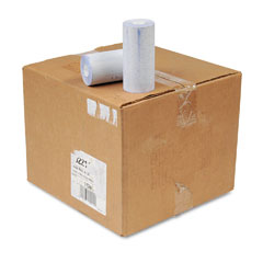 "NCR 802211 Teller Roll, 1/2"" X 92 Ft, White, 50/Box"