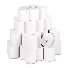 "NCR NCR856911 Thermal Paper Rolls, 3-1/8"" x 273 ft, White, 50/Carton"