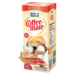 Coffee-mate - original creamer, .375 oz., 50 creamers/box, sold as 1 bx