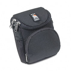 Norazza Incorp AC220 Camcorder/Digital Camera Case, Nylon, 5 X 3-1/2 X 6-5/8, Black
