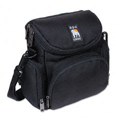 Norazza Incorp AC250 Camcorder/Digital Camera Case, Nylon, 7-1/8 X 4-1/8 X 7-1/4, Black
