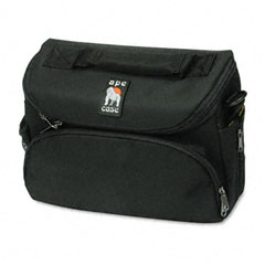 Norazza Incorp AC260 Camcorder/Digital Camera Case, Nylon, 10-5/8 X 4-7/8 X 8-1/4, Black