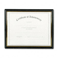 Nu-Dell 19210 Framed Achievement/Appreciation Awards, Two Designs, Letter