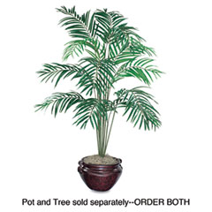 Nu-dell - artificial areca palm tree, 6-ft. overall height, sold as 1 ea