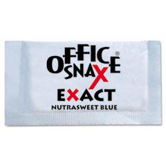 Office Snax 00060 Nutrasweet Blue Sweetener, 2000 Packets/Carton