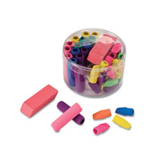 Officemate - eraser pack, assorted colors, 45/pack, sold as 1 ea