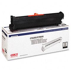 Oki - 42918104 drum, type c7, black, sold as 1 ea