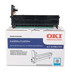 Oki - 43381759 drum, cyan, sold as 1 ea
