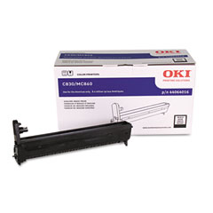 Oki - 44064016 drum, black, sold as 1 ea
