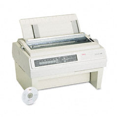 Oki - pacemark 3410 nine-pin dot matrix printer, sold as 1 ea