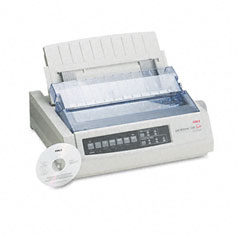 Oki - microline 320 turbo dot matrix impact printer, sold as 1 ea