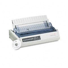 Oki - microline 321 turbo dot matrix impact printer, sold as 1 ea