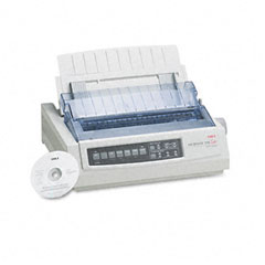Oki - microline 390 24-pin dot matrix turbo printer, sold as 1 ea
