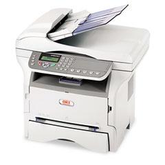 Okidata OKI62431901 MB290 MFP Multifunction Printer w/Copy/Fax/Print/Scan