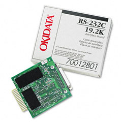 Oki - internal rs-232c interface for okidata microline ml-320/321/520/521/590/591, sold as 1 ea
