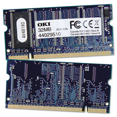 Okidata 70057301 Ram Memory For B400 Series, 32Mb