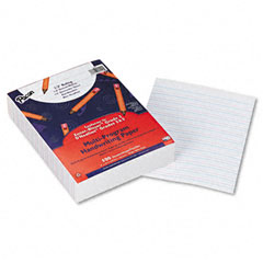 "Pacon 2422 Multi-Program Handwriting Paper, 1/2"" Short Rule, 10-1/2 X 8, White, 500 Shts/Pk"