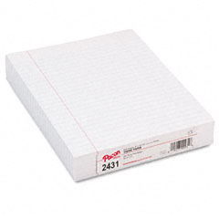 Pacon 2431 Composition Paper With Red Rule, 16 Lbs., 8 X 10-1/2, White, 500 Sheets/Pack