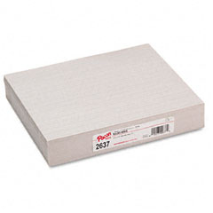 Pacon 2637 Skip-A-Line Ruled Newsprint Paper, 30 Lbs., 11 X 8-1/2, White, 500 Shts/Pack