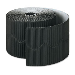 Pacon - bordette decorative border, 2 1/4-inch x 50' roll, black, sold as 1 rl