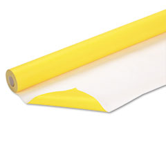 Pacon - fadeless art paper, 50 lbs., 48-inch x 50 ft, canary yellow, sold as 1 rl