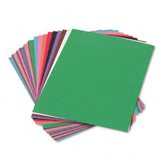 Sunworks - construction paper, 58 lbs., 9 x 12, assorted, 50 sheets/pack, sold as 1 pk