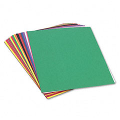 Sunworks - construction paper, 58 lbs., 24 x 36, assorted, 50 sheets/pack, sold as 1 pk