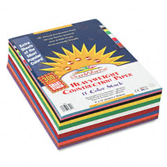 Sunworks - construction paper smart-stack, 58 lbs., 9 x 12, assorted, 300 sheets/pack, sold as 1 pk