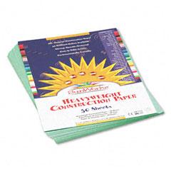 Pacon 7903 Construction Paper, 58 Lbs., 9 X 12, Medium Green, 50 Sheets/Pack