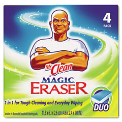 Procter & Gamble PAG01278 Magic Eraser Duo Pad, 4/BOX
