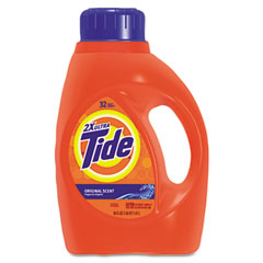 Procter & Gamble 13878EA Ultra Liquid Tide Laundry Detergent, 50 Oz., Bottle, Single