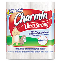 Procter & Gamble 23992 Ultra Strong Two-Ply Bathroom Tissue, 88 Sheets/Roll, 4/Pack