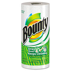 Procter & Gamble PAG28838CT Bounty Perforated Paper Towels, 9 x 10 2/5, White, 52 Sheets/Roll, 30/Carton