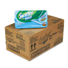 Procter & Gamble 35154CT Wet Refill System, Cloth, Open Window Fresh, White, 12/Box, 12/Carton