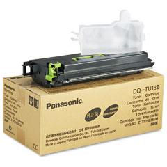 Panasonic DQTU18B Dqtu18B Toner, 18000 Page-Yield, Black