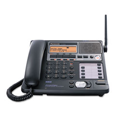 Panasonic PANKXTG4500B Kx-tg4500b 5.8 ghz cordless 4-line phone, black