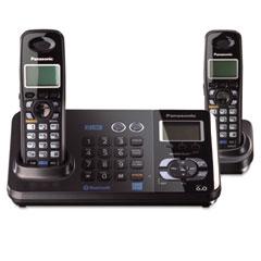 Panasonic PANKXTG9382T Bluetooth Compatible Cordless Telephone, 2 Handsets