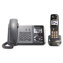 Panasonic PANKXTG9391T Digital Corded/Cordless Answering System, 1 Handset