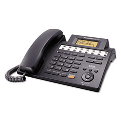 Panasonic PANKXTS4200B KX-TS4200B Integrated Phone System, Corded, Four Lines, Black