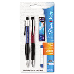 Papermate 1738795 Comfortmate Ultra Pencil Starter Set, Ast Brl; 0.50 Mm, Ref