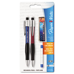 Papermate 1738796 Comfortmate Ultra Pencil Starter Set, Ast Brl; 0.70 Mm, Ref