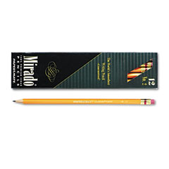 Papermate 2097 Mirado Woodcase Pencil, Hb #2, Yellow Barrel, Dozen