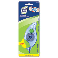 "Papermate 660415 Dryline Grip Correction Tape, Non-Refillable, 1/5"" X 335"""