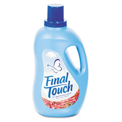 PBC 58420 Final Touch Ultra Liquid Fabric Softener, 120 Oz. Bottle