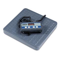 Pelouze PEL4010 Heavy-Duty Electronic Utility Scale, 150lb Capacity, 12 x 12-1/2 Platform